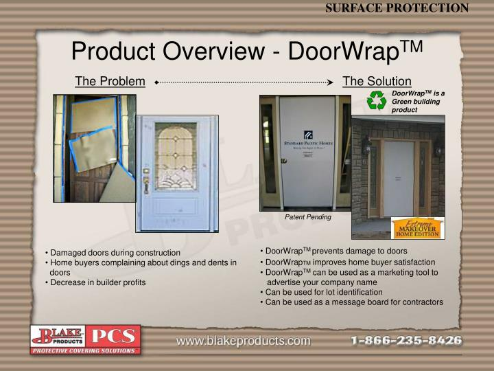 Product Overview - DoorWrap