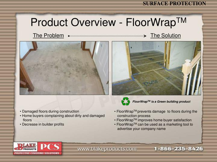 Product Overview - FloorWrap