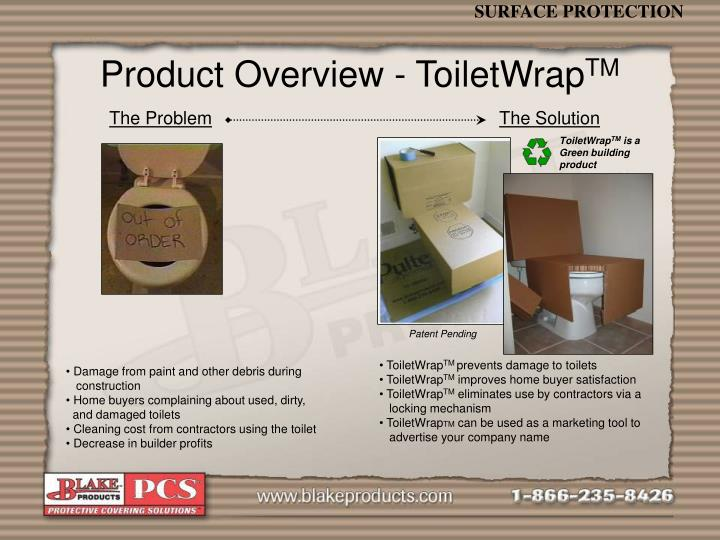 Product Overview - ToiletWrap