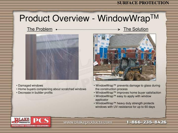 Product Overview - WindowWrap