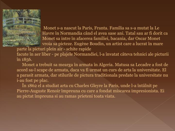 Monet s-a
