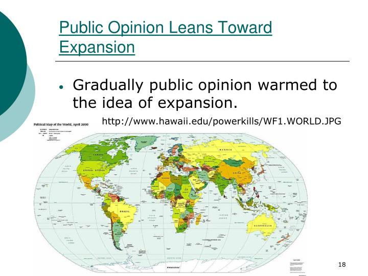 Public Opinion Leans Toward Expansion