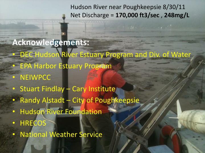 Hudson River near Poughkeepsie 8/30/11