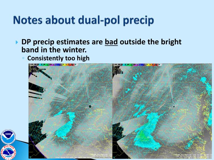 Notes about dual-pol