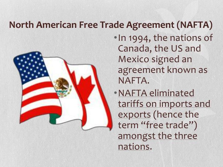 north american free trade agreement and After a brief hiatus during the run up to the recent mexican elections, negotiations  on the north american free trade agreement (nafta) are in.