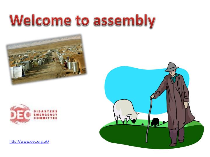 Welcome to assembly