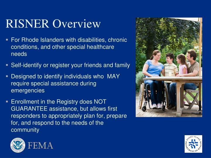 RISNER Overview