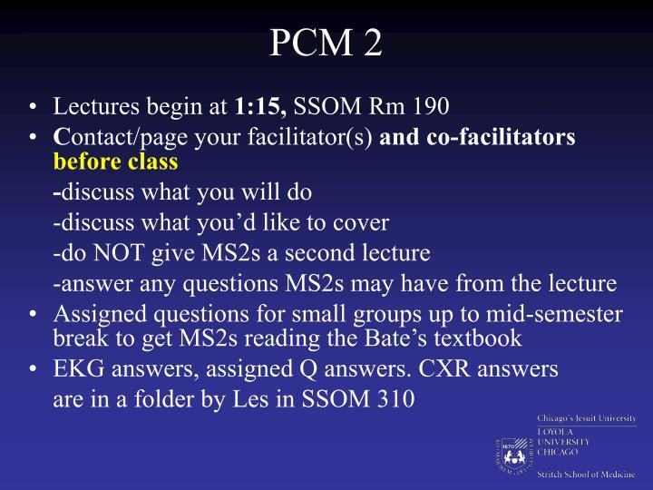 PCM 2