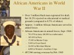 african americans in world war ii