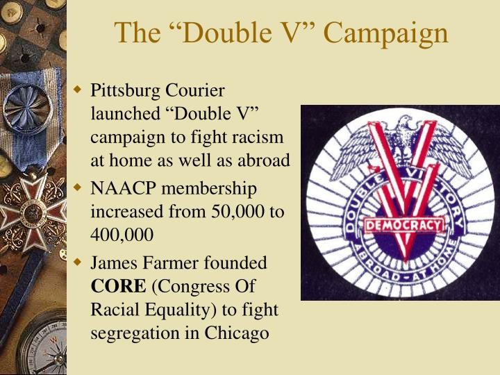 "The ""Double V"" Campaign"
