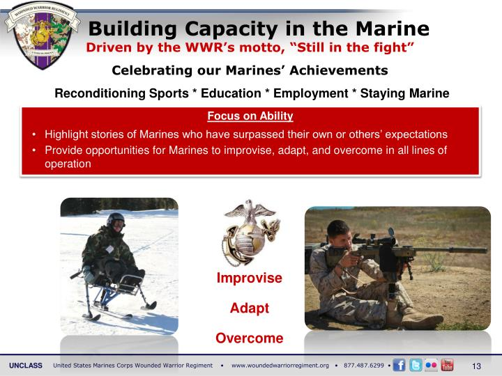 Building Capacity in the Marine
