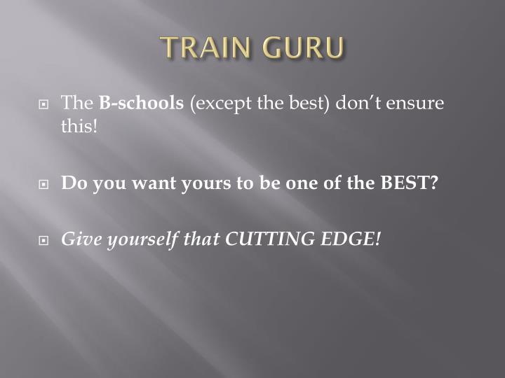 TRAIN GURU