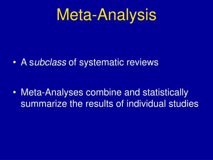 Meta-Analysis