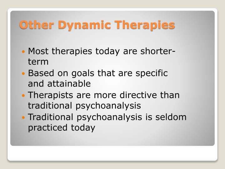 Other Dynamic Therapies