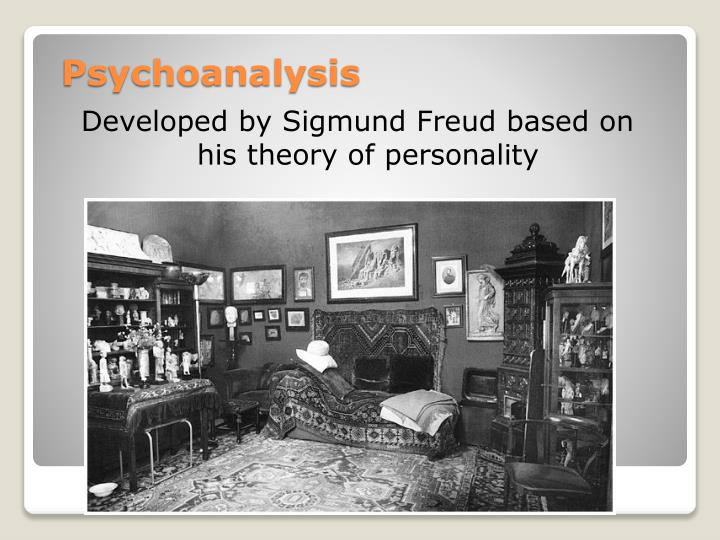Developed by Sigmund Freud based on his theory of personality