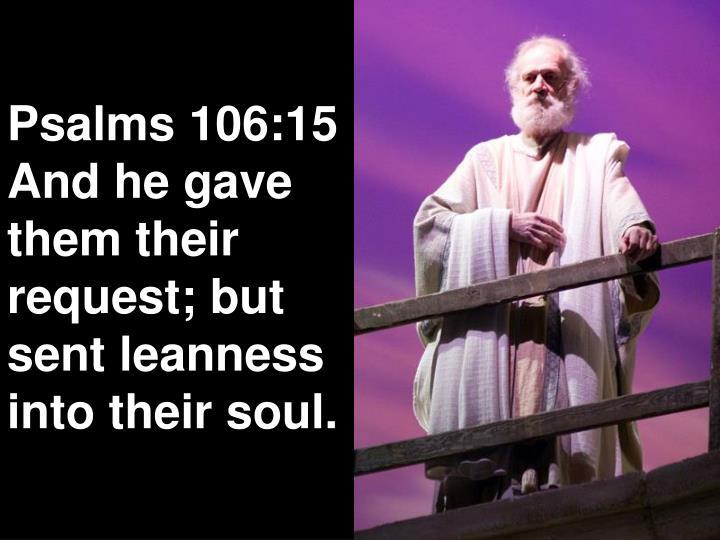 Psalms 106:15