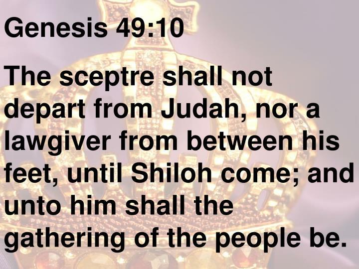 Genesis 49:10