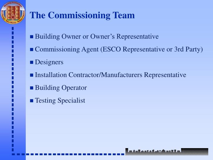 The Commissioning Team