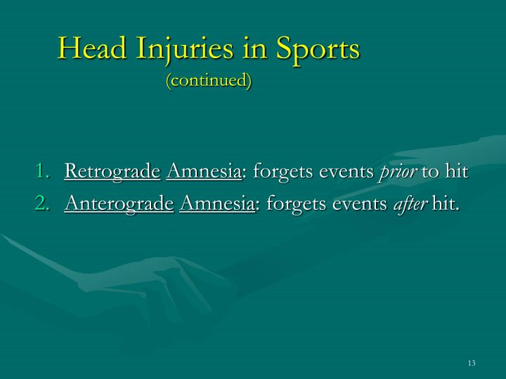 Head Injuries in Sports