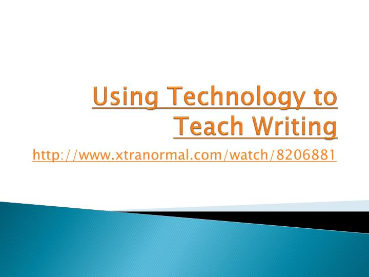 powerpoint presentation writing to instruct