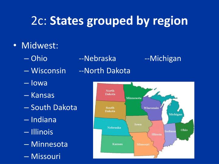2c states grouped by region2