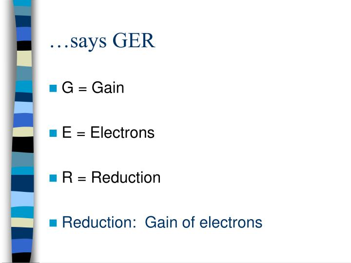 …says GER
