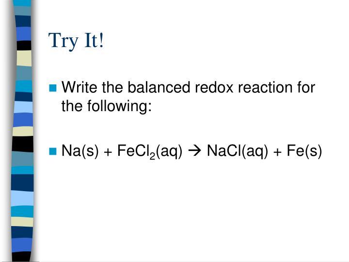 Try It!
