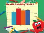 math eog proficiency 2011 2012