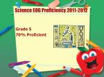 science eog proficiency 2011 2012
