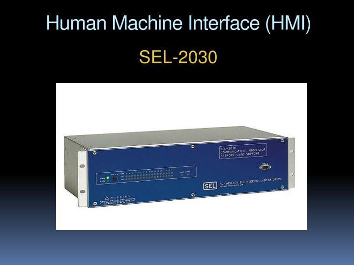 Human Machine Interface (HMI)