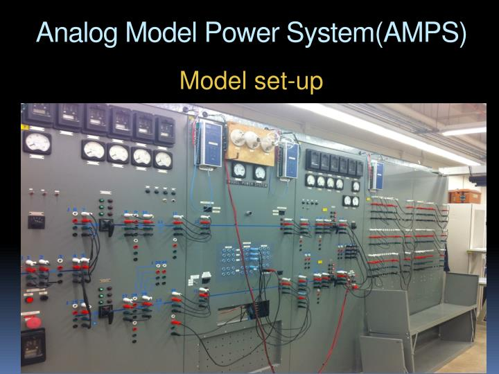 Analog Model Power System(AMPS)