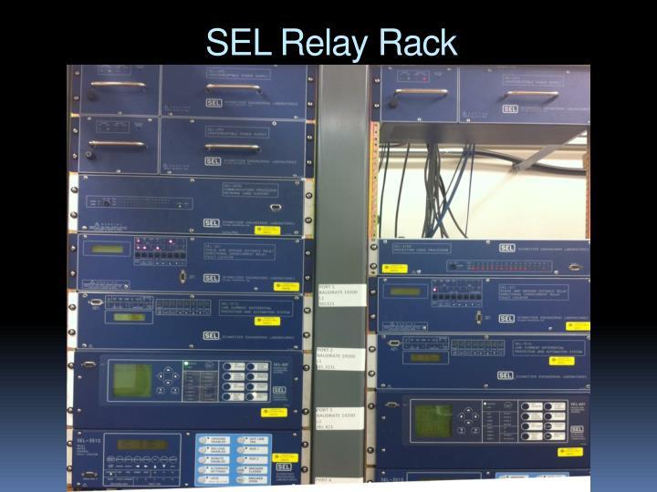 SEL Relay Rack