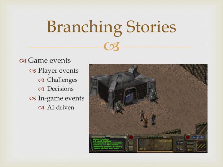 Branching Stories