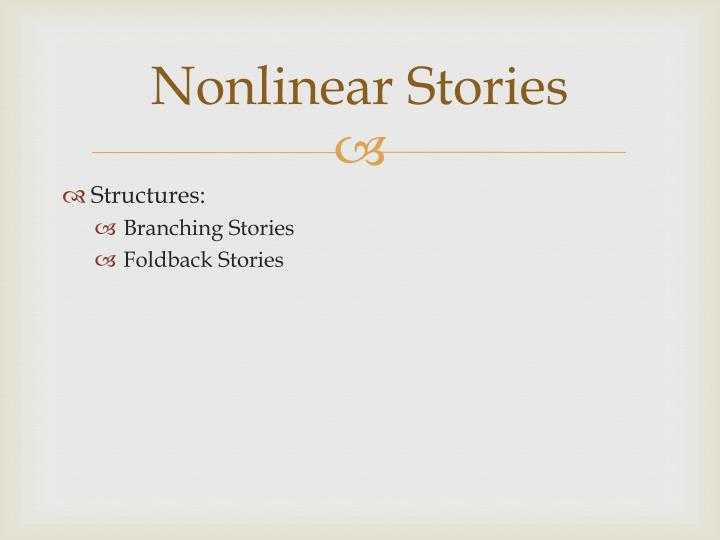 Nonlinear Stories