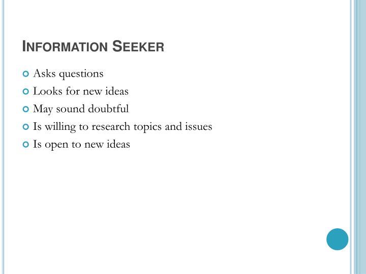 Information Seeker