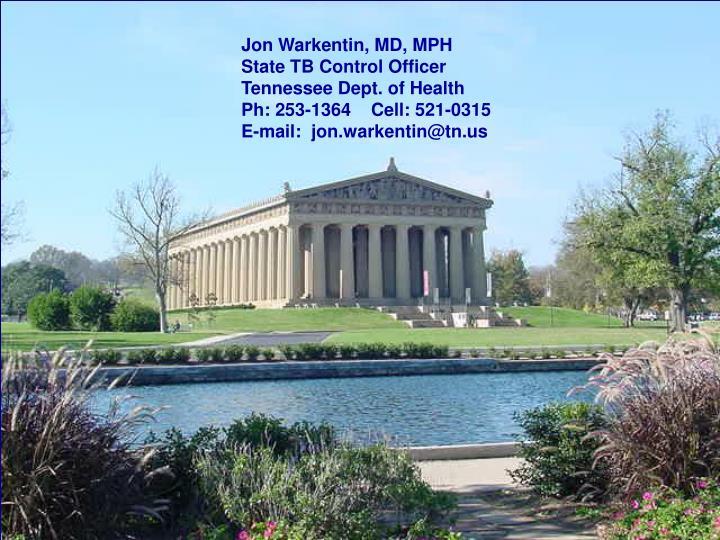 Jon Warkentin, MD, MPH
