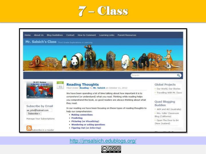 7 – Class