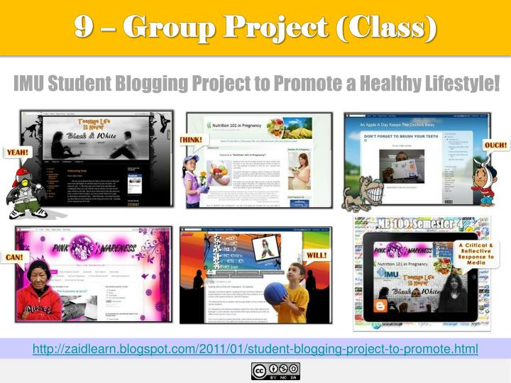 9 – Group Project (Class)