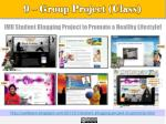 9 group project class