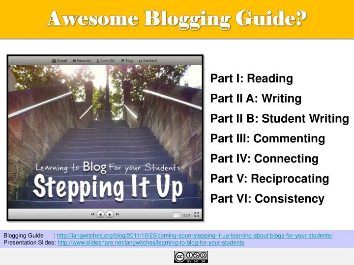 Awesome Blogging Guide?