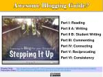awesome blogging guide