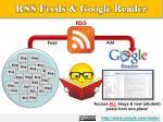 rss feeds google reader