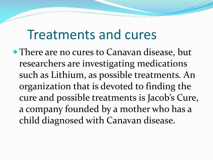 Treatments and cures