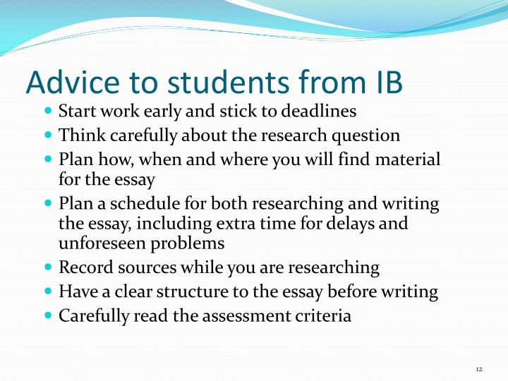 prescribed essay titles tok 2012 The tok essay is not primarily a research paper but it is expected that specific sources will be used and these must be prescribed titles november 2012.