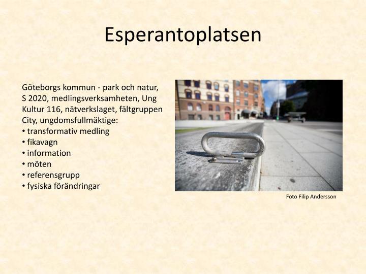Esperantoplatsen