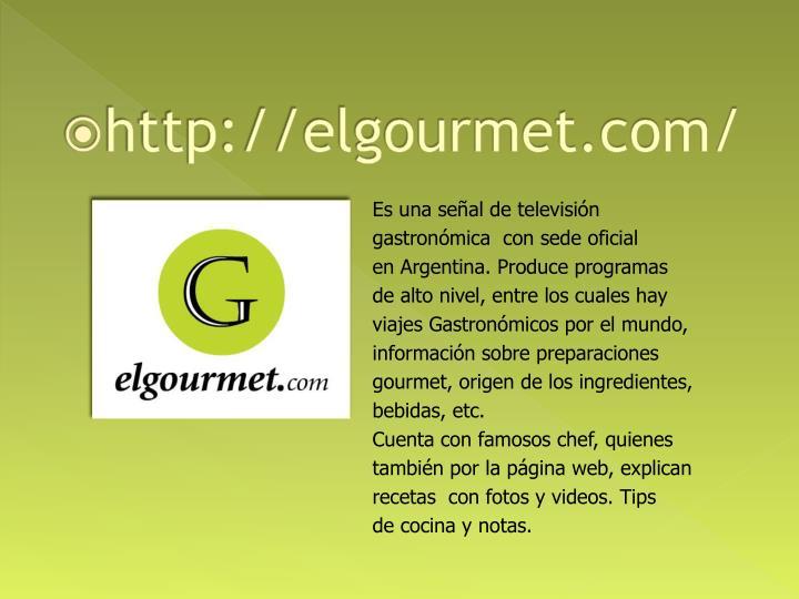 http://elgourmet.com/
