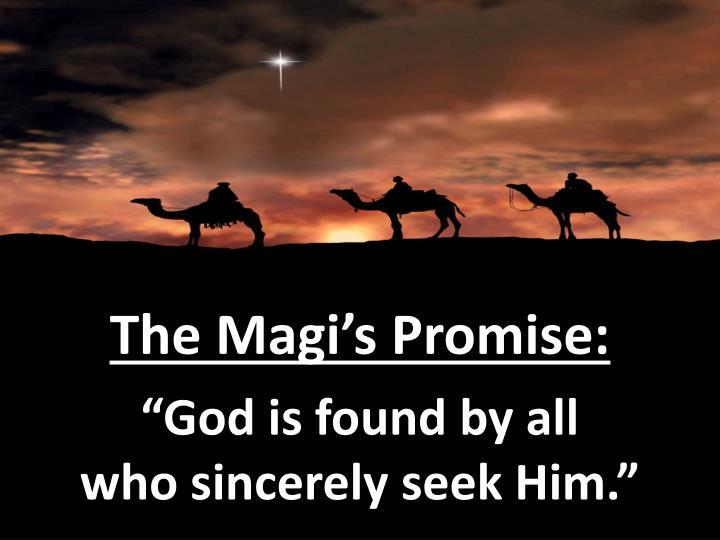 The Magi's Promise: