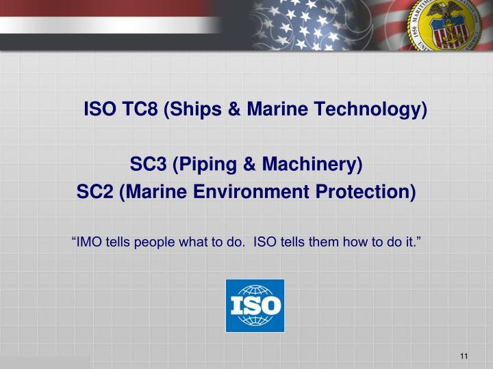 ISO TC8 (Ships & Marine Technology)