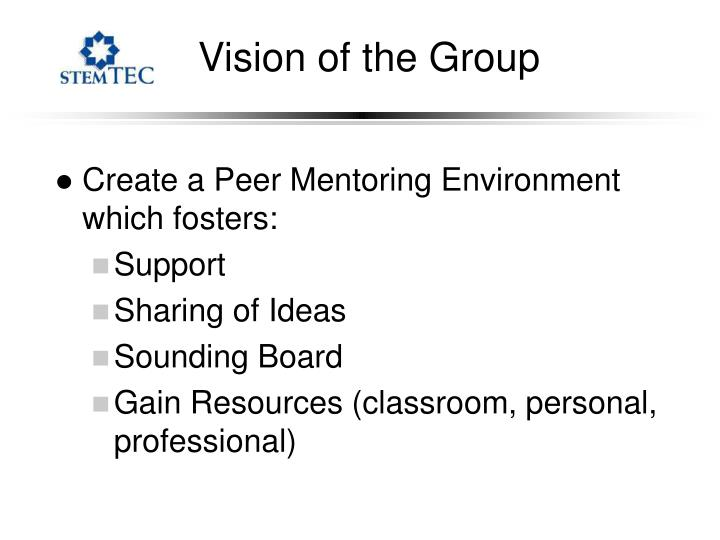 Vision of the Group