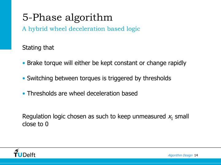 5-Phase algorithm